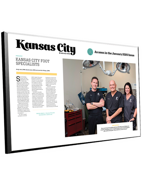 Kansas City Magazine Best Doctors Plaques