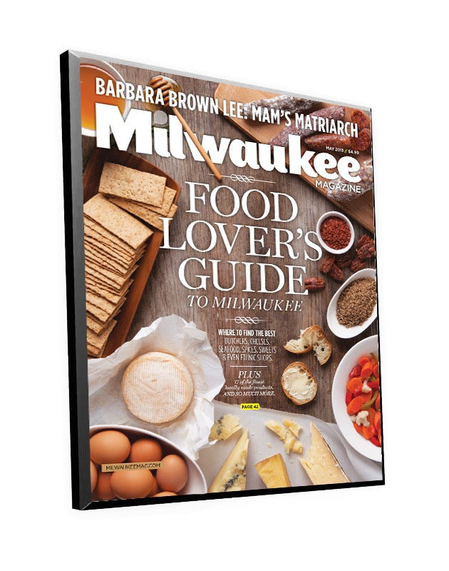 Milwaukee Magazine Cover Plaque by NewsKeepsake