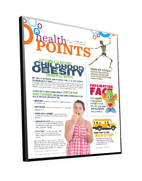 OurHealth Article Plaque