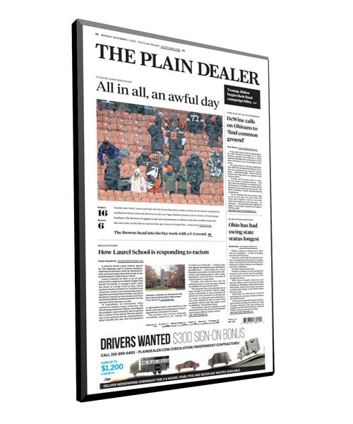 Plain Dealer Articles | Hardi-Plaque by NewsKeepsake