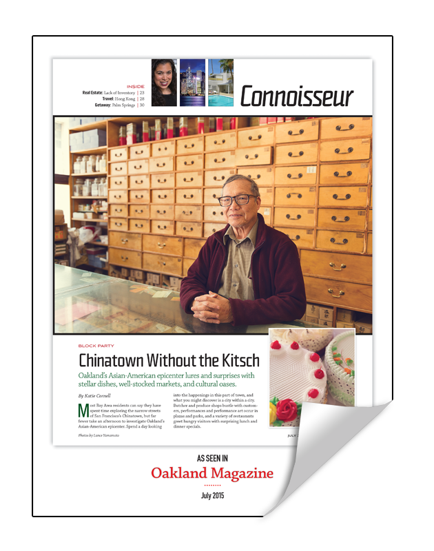 Oakland Magazine 1-Page Article Reprint