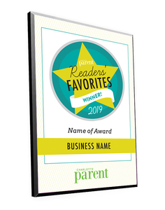 """Readers' Favorites"" Award Plaque"
