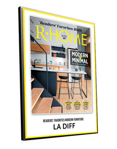 "R-Home ""Readers' Favorites"" Cover Award Plaque by NewsKeepsake"