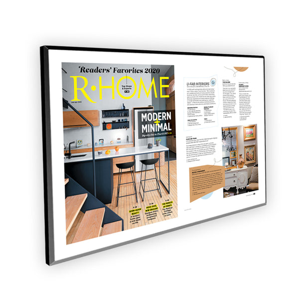 "R-Home ""Readers' Favorites"" Cover / Article Plaque - 18"" x 12"""