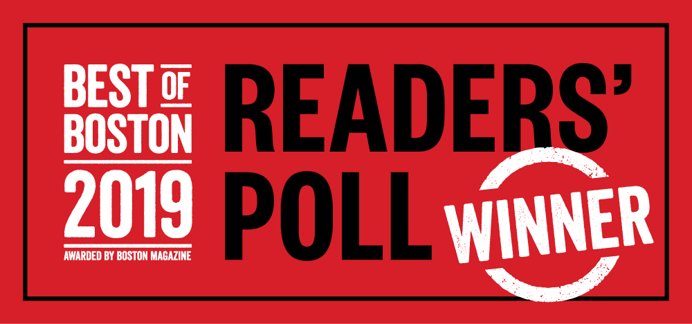 Boston Magazine Readers' Poll Window Decals