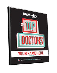 "Milwaukee Magazine ""Top Doctors"" Awards"