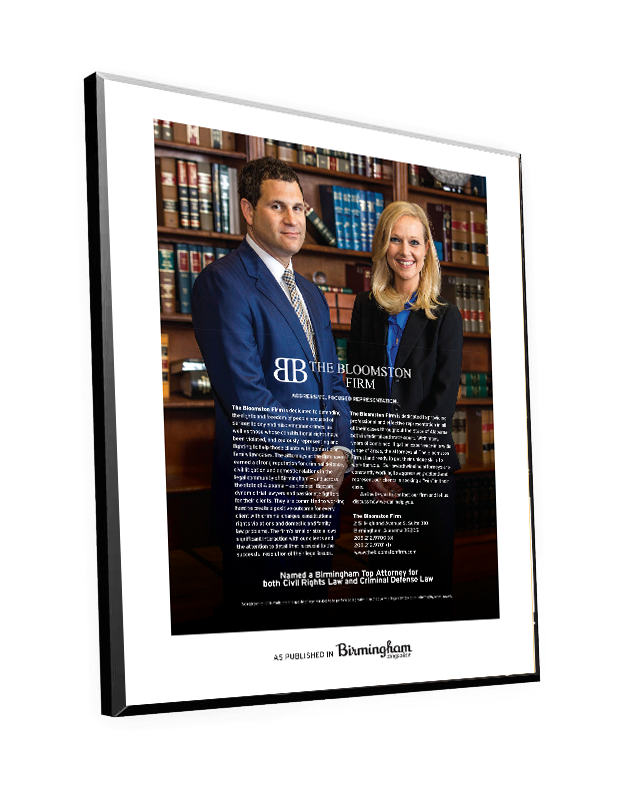 "Birmingham Magazine ""Top Attorneys"" Plaque by NewsKeepsake"