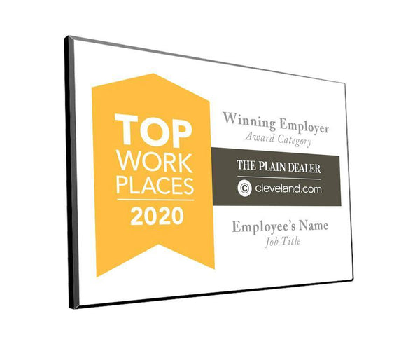 Top Workplace Award | Hardi-Plaque by NewsKeepsake