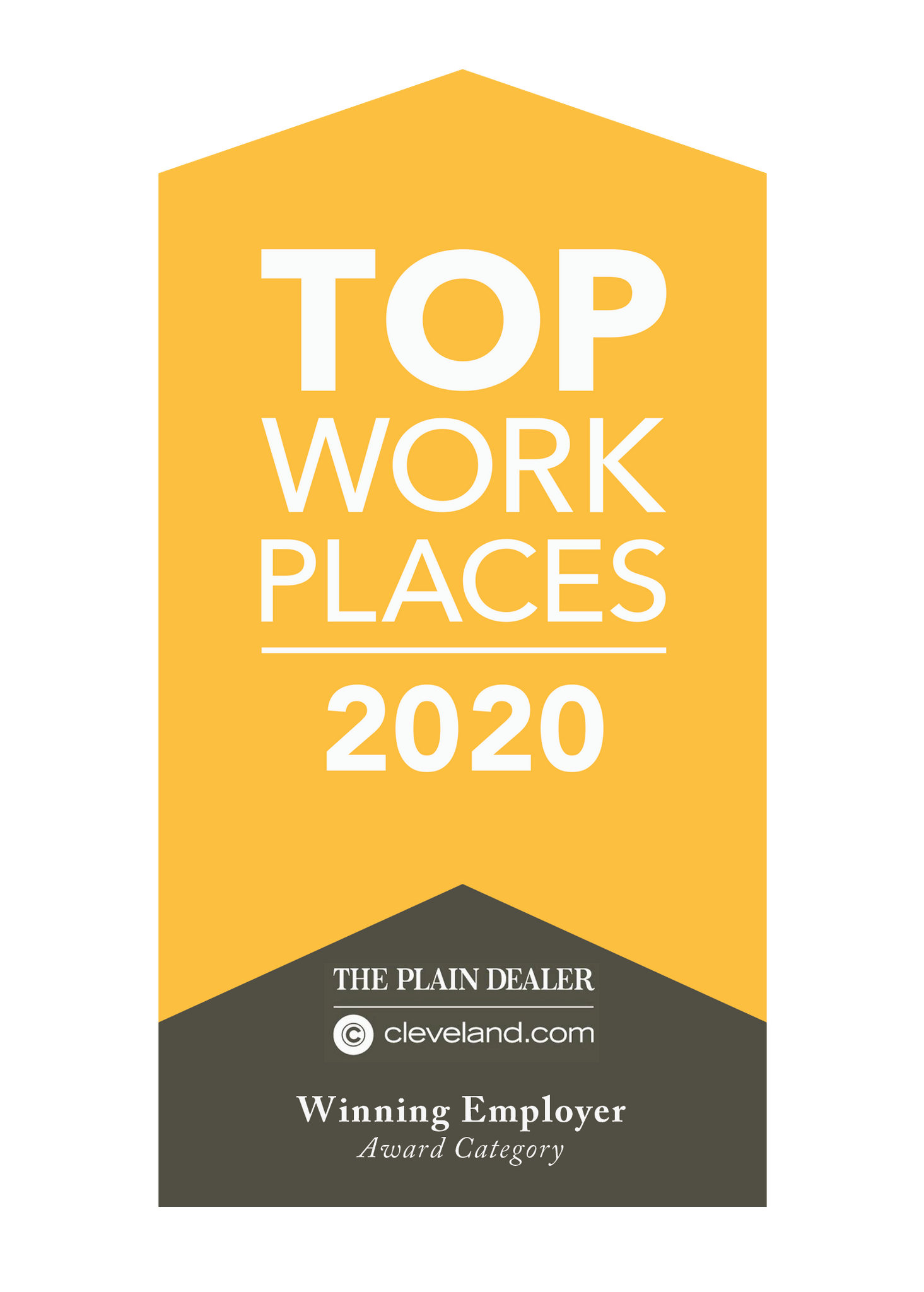 Top Workplace Award Plaque | Acrylic Block by NewsKeepsake