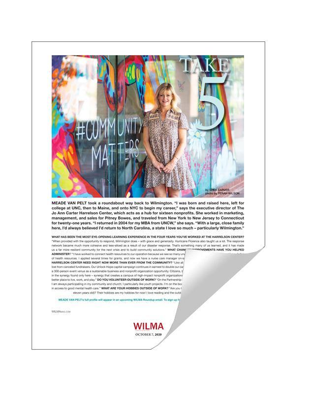WILMA Single-Page Cover or Article Reprints by NewsKeepsake