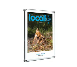 Local Life Cover Acrylic Standoff Plaque