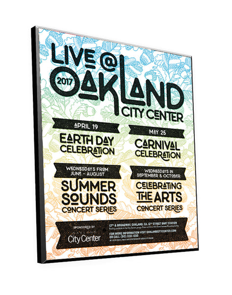 Oakland Magazine Ad Displays