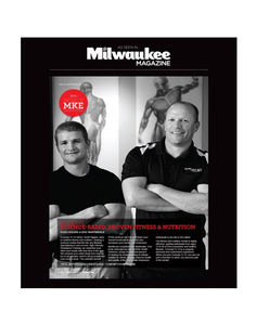 Milwaukee Magazine Advertisement Window Cling