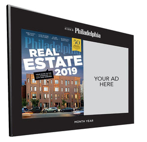 <em>Philadelphia</em> magazine Advertiser Countertop Display Plaques