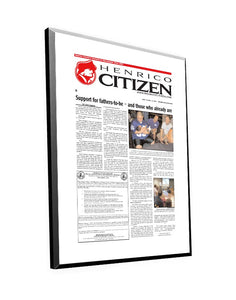 Henrico Citizen Article Plaque