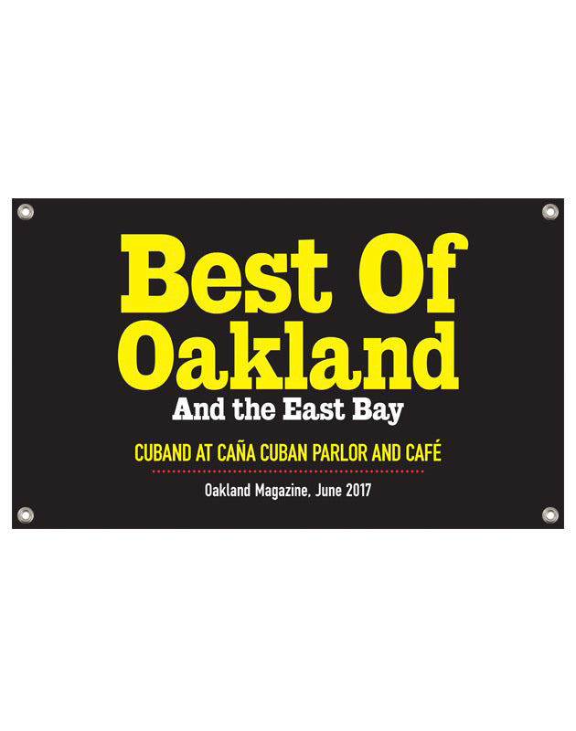 """Best of Oakland & the East Bay"" Award Banner by NewsKeepsake"
