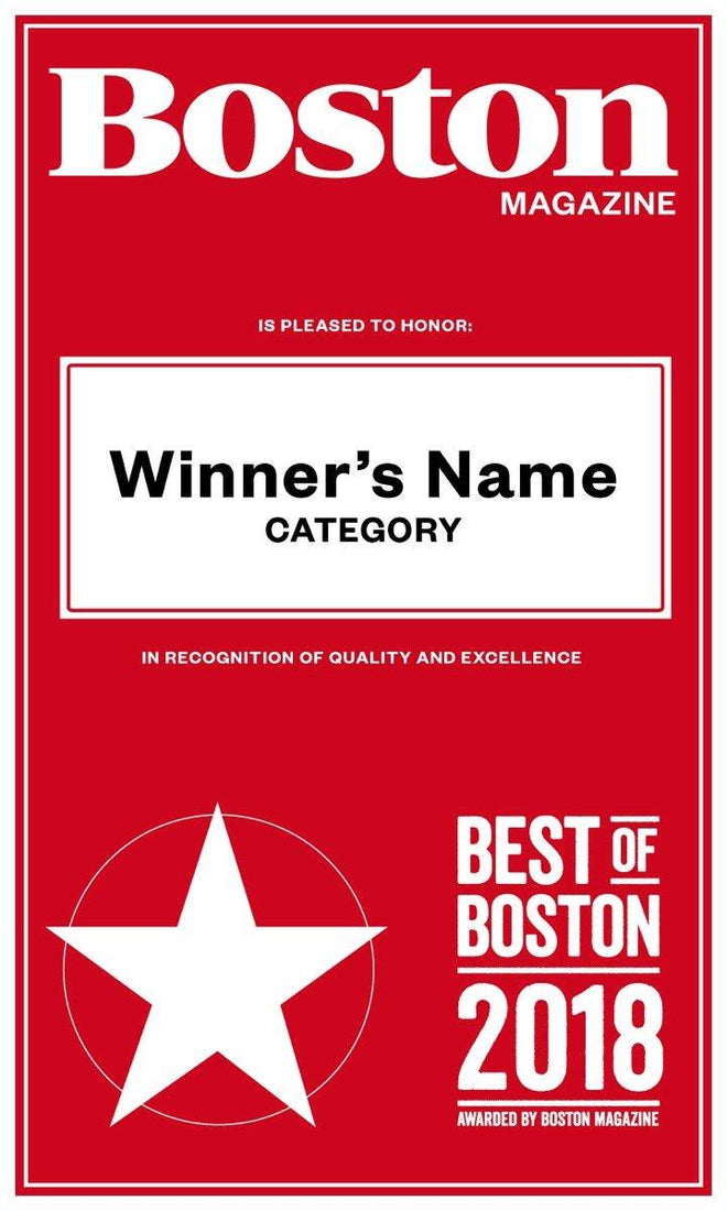 """Best of Boston"" Banners"
