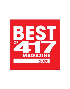 417 Magazine Best of 417 Award - Decal