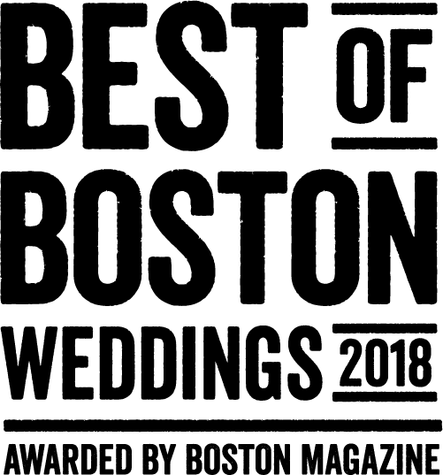 """Best of Boston Weddings"" Window Decal"