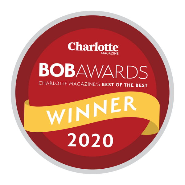 "Charlotte Magazine ""Best of the Best"" Award - Window Decal"