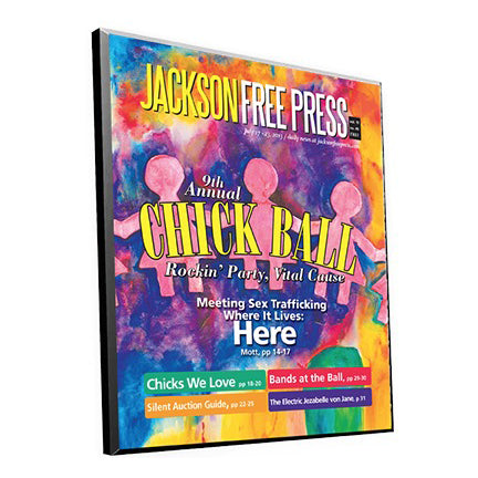 Jackson Free Press Cover Plaque