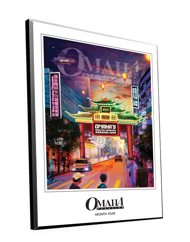 Omaha Magazine Cover Plaques by NewsKeepsake