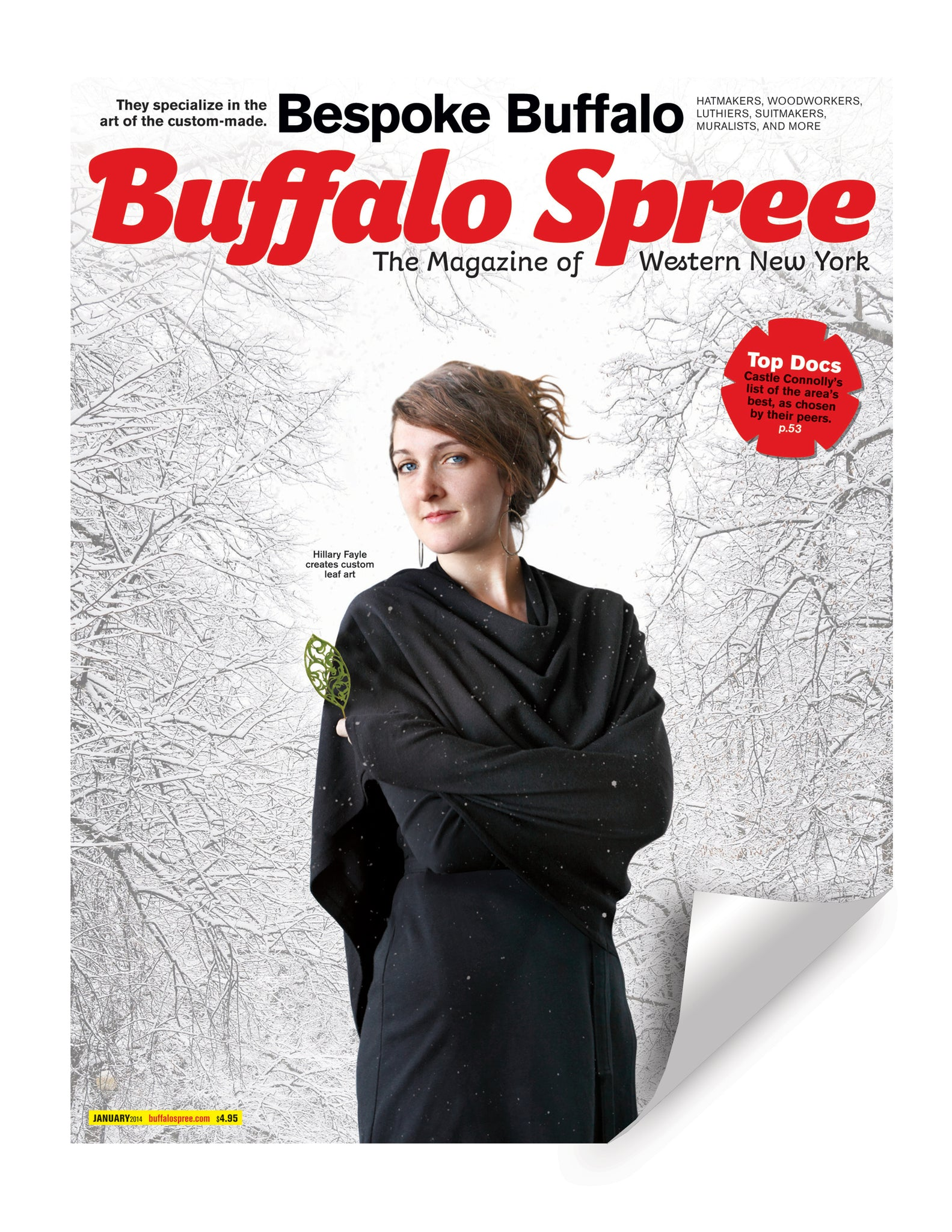 Buffalo Spree Cover Reprint by NewsKeepsake