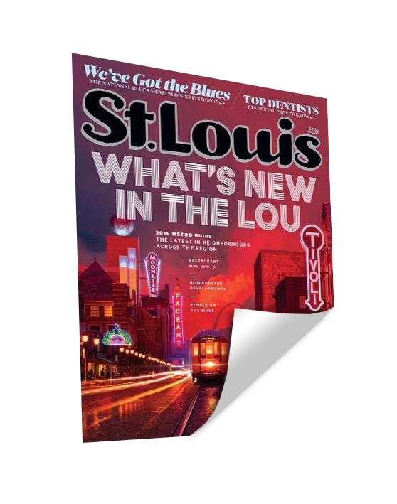 St. Louis Magazine Cover Reprint