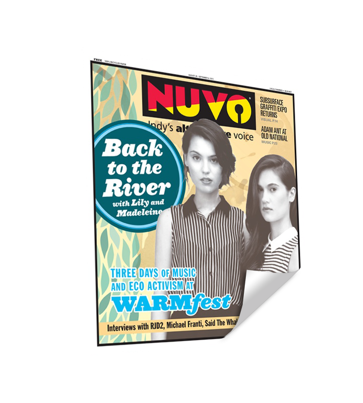 NUVO Cover Reprint by NewsKeepsake