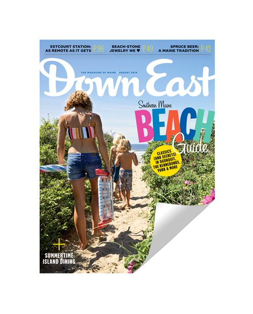 Down East Magazine Cover Reprint