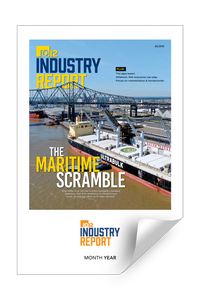 10/12 Industry Report Cover / Article Reprints by NewsKeepsake