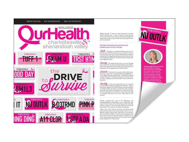 OurHealth Cover/Article Reprint
