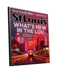 St. Louis Magazine Cover Plaque