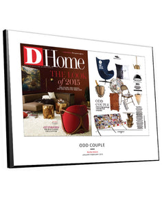 D Home Article & Cover Spread Plaque