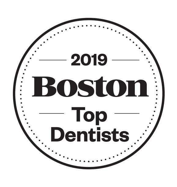 Boston Magazine Top Dentist Window Decals