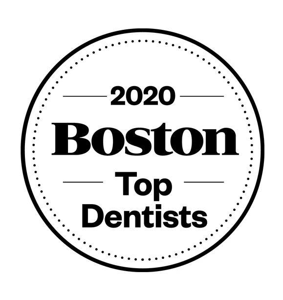 Boston Magazine Top Dentist Window Decals by NewsKeepsake