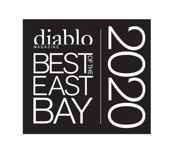 "Diablo Magazine  ""Best of the East Bay"" Award - Window Decals"
