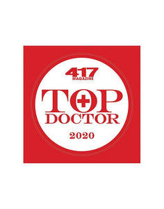 417 Magazine Top Doctor Award - Decal