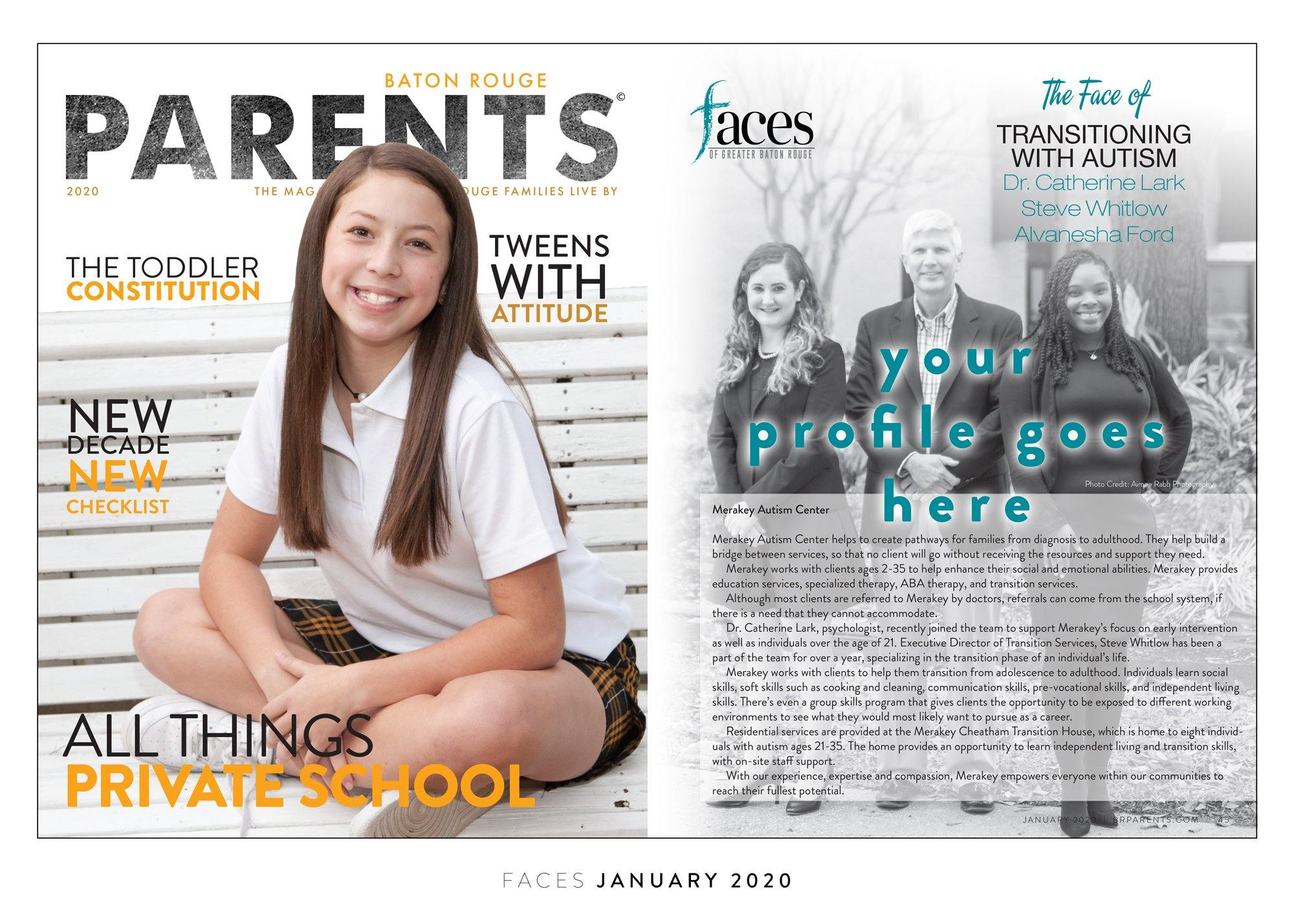 BR Parents Faces 2-page Spread Plaques