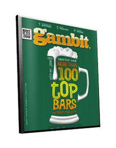 Gambit New Orleans Cover Plaque by NewsKeepsake