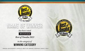 Omaha Magazine's Best of Omaha Award Award Banner