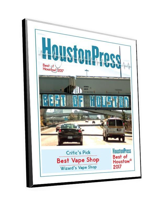 """Best of Houston"" Award Plaque"