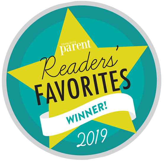 "Charlotte Parent ""Readers' Favorite"" Award - Window Decal"
