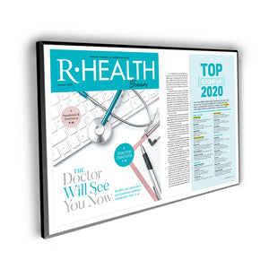 "Richmond Magazine ""Top Dentists"" Cover / Article Plaque - 18"" x 12"" by NewsKeepsake"