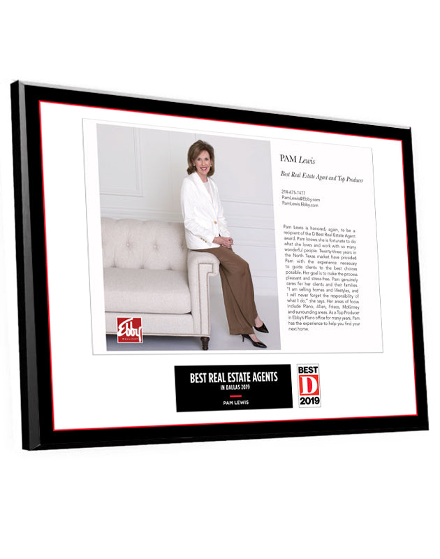 """Professional Services"" Article Spread Plaques"