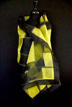"Load image into Gallery viewer, ""Eire"" Bojagi silk organza wrap"