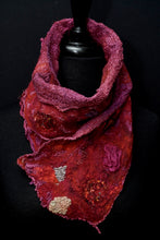 "Load image into Gallery viewer, ""Holiday"" mini nuno scarf"