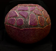 "Load image into Gallery viewer, ""Kilauea"" wool vessel"
