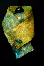 "Load image into Gallery viewer, ""Kerrera"" silk and merino wool scarf"