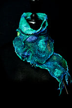 "Load image into Gallery viewer, ""Bari"" mini nuno scarf"